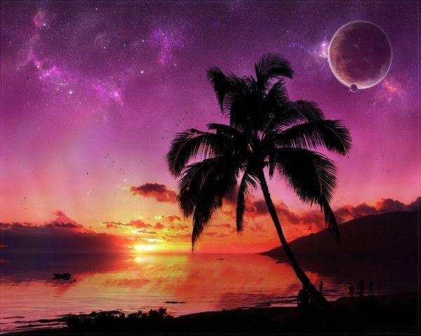 fond d'écran coucher de soleil 61cfc365