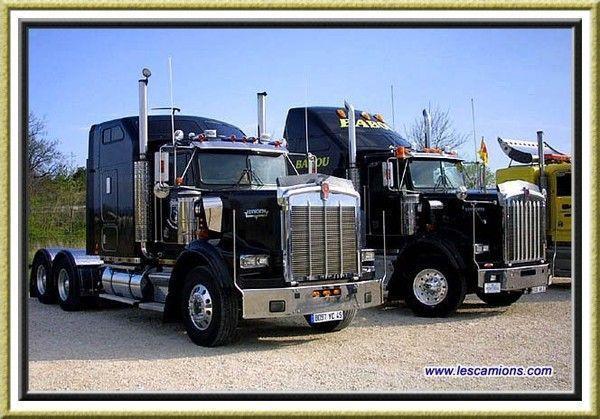 Fond d ecran camion tuning - Camion benne americain ...
